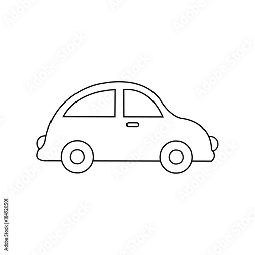 Car Drawing Car Toy Coloring Pages For Kids Vector Stock Stock