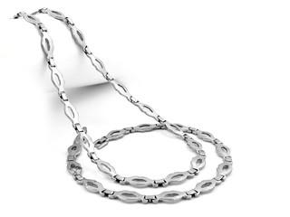 Set of Necklace and Bracelet