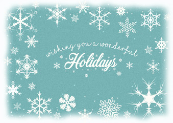 Wishing you a wonderful holidays