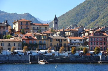 Altstadt von Cannobio am Westufer des Lago Maggiore, Tessin, Italien