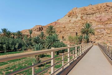 bridge at ait ben haddou village