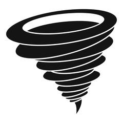Hurricane icon. Simple illustration of hurricane vector icon for web