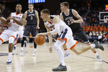 NCAA Basketball: Davidson at Virginia