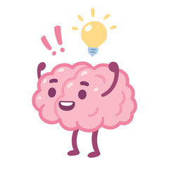 Cartoon brain idea