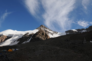 Aconcagua Mountain Expedition, Andes Mountains, Argentina