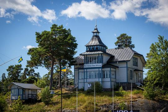 Altes Haus im Hafen