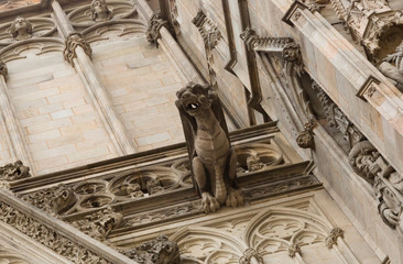 Barcelona Cathedral. Architecture details