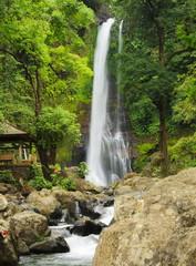 Git Git waterfall. Bali island. Indonesia.