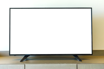 television blank isolated