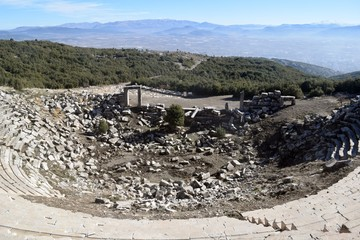 Kibyra or Cibyra (Greek: Κιβύρα), also referred to as Cibyra Magna, is an ancient city and an archaeological site in south-west Turkey, near the modern town of Gölhisar, in Burdur Province. It was the