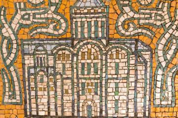 Tuinposter Imagination Mosaic background. colorful mosaic. texture mosaic.