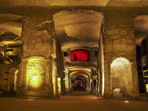 Saint Gennaro catacomb