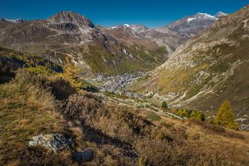 Blick auf Val De L'Iseran