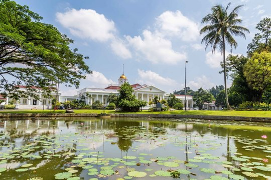 Presidential Palace of the Republic of Indonesia in Bogor, West Java, Indonesia