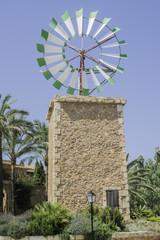 Windmill on Malorca