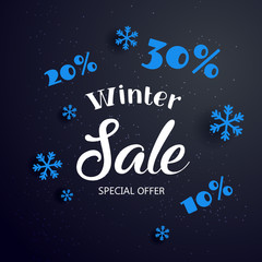 Sale banner background for New Year shopping sale.