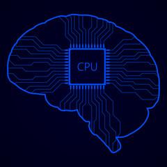 Brain with processor