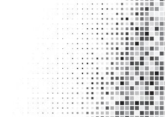Fototapeta Halftone background made of squares obraz