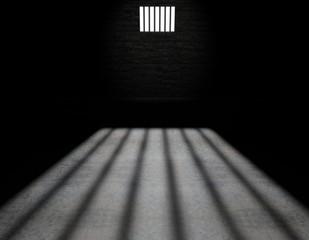 Cella di un carcere, interno di una cella di una prigione