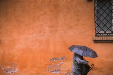 Rainy day in Rome