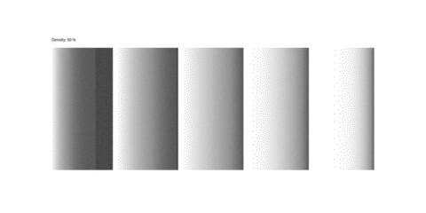 Stipple Linear Gradient high quality - 50% Density