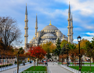 Blue Mosque (Sultan Ahmed Mosque) Istanbul Turkey