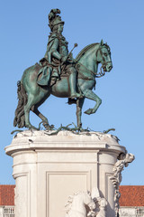 Statue of King Jose I in Lisbon
