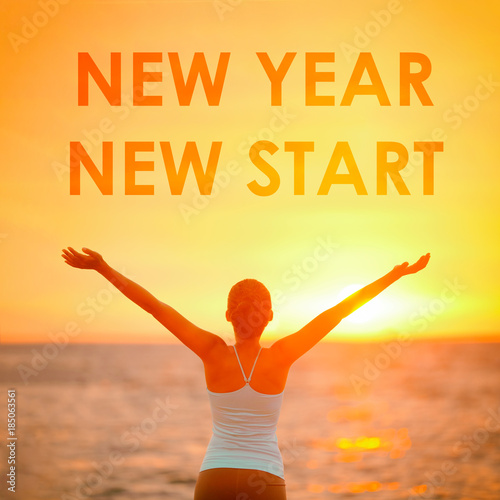 "New Year Quotes For Life: ""NEW YEAR NEW START Motivational Message, Inspirational"