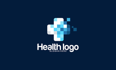 Health logo designs template, Medical logo in modern style vector
