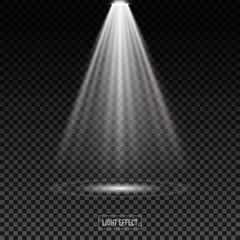 light effect on dark trasparent background,vector illustration.