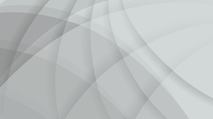 Abstract gray color technology background. Light color gradient rounded shapes texture for software design, web, apps wallpaper.