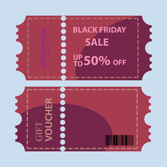 big sale coupon vector illustration