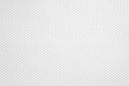 Synthetic fabric texture. Background of white textile