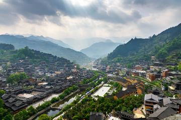 Qianhu Miao Village of Kaili City,Guizhou province,China