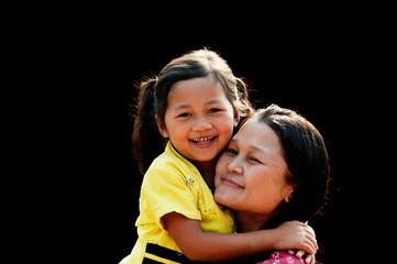 Po Karen Mother and Child