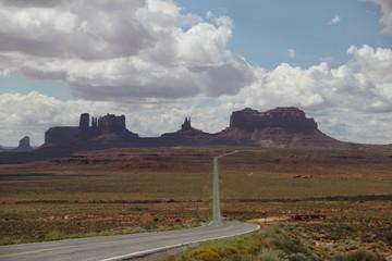 Beautiful Landscape of Monument Valley - Utah - Arizona - USA