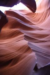 Beautiful Structure of the Antelope Canyon - Arizona - USA