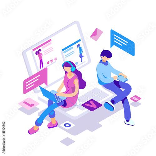 Kreative Profile online datieren