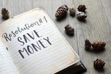 Resolution No. 1 SAVE MONEY