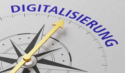Kompass - Digitalisierung