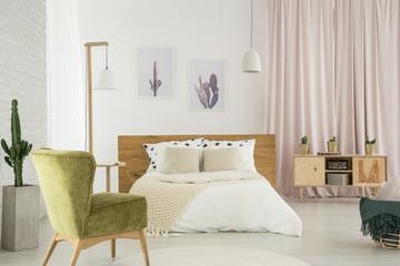 Bedroom in wild west style