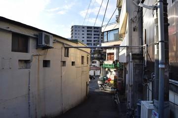Back road at Atami, Japan