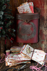 Christmas letters to Santa and the North Pole post