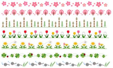 春の飾り線