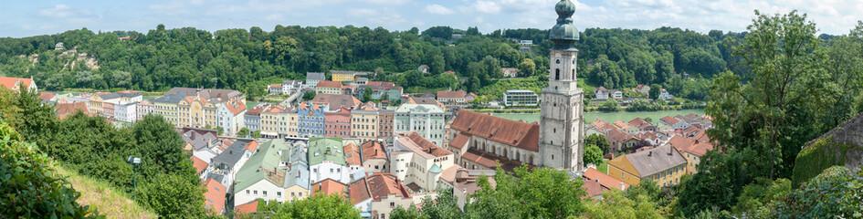 Burghausen in Bayern