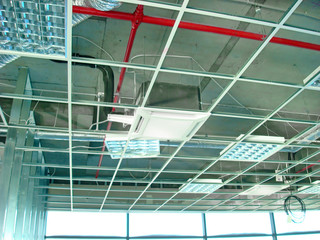 Mounting Suspended Ceiling Frame