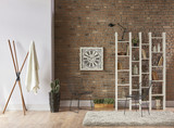 Beautiful New And Modern Interior Concept Library Decoration Book Bookshelf With Chair Frame