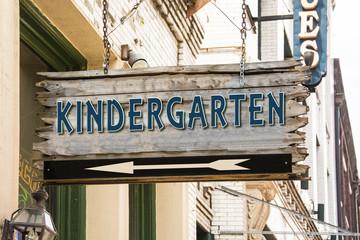 Schild 279 - Kindergarten