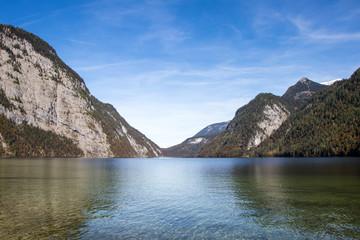 Königssee Bayern mit Bergen
