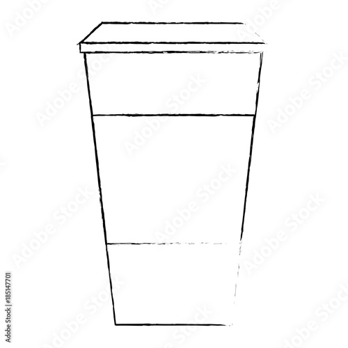 Coffee Paper Cup Template Blank Corporate Identity Design